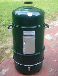 master forge charcoal smoker